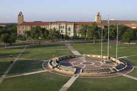 Texas Tech University Administration Building and Memorial Circle