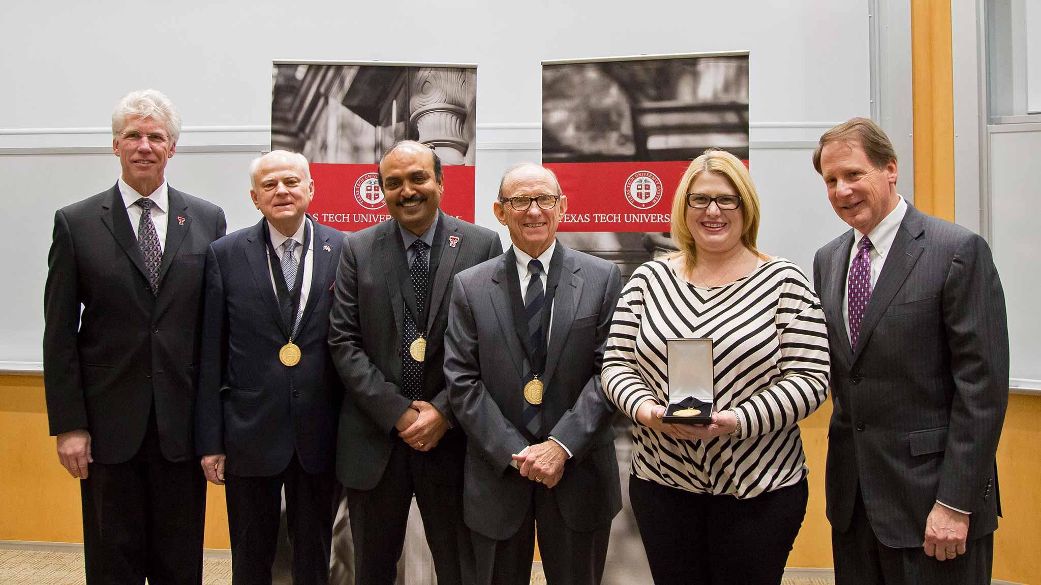 Texas Tech University Health Sciences Center at El Paso distinguished faculty award recipients