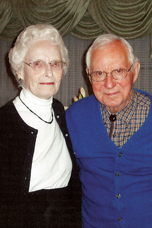 Emily and Frank Mitchell Jr.