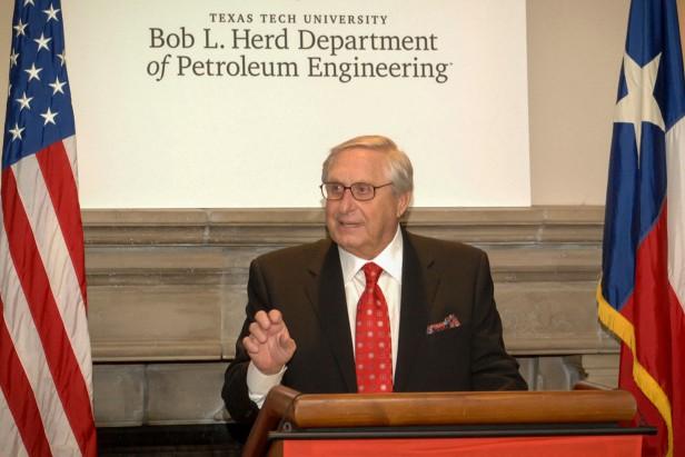 Bob L. Herd speaking