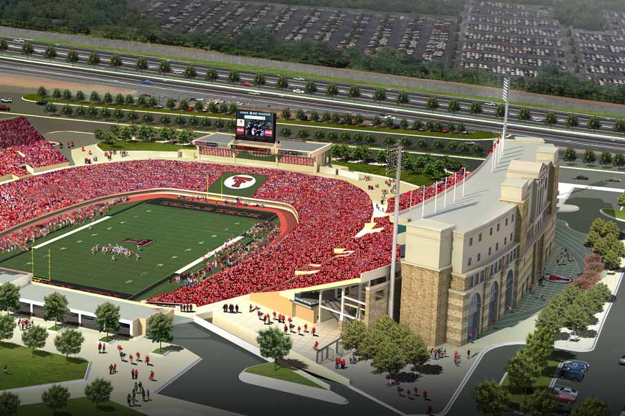 Fundraising Goal Reached For Jones At T Stadium Expansion Texas Tech University System