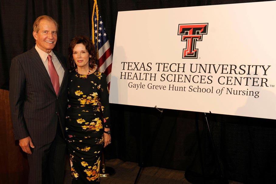 Texas Tech School Of Nursing >> Hunt Family Foundation Creates El Paso Nursing School With 10m Gift