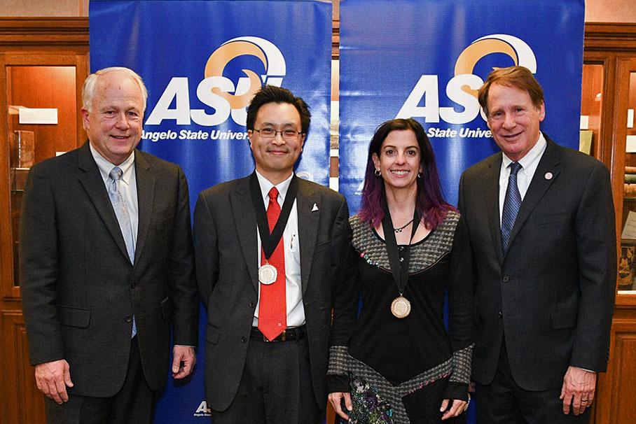 Brian May, Kanisorn Wongsrichanalai, Susana Badiola and Robert Duncan