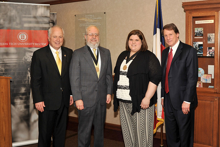 Chancellor's Council distinguished faculty award recipients at Angelo State University