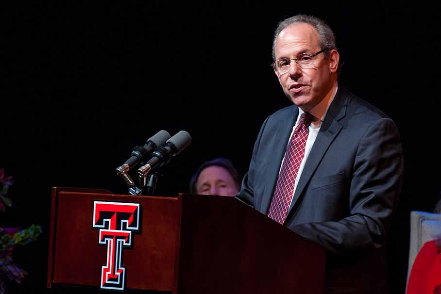 Dean Noel Zahler speaking