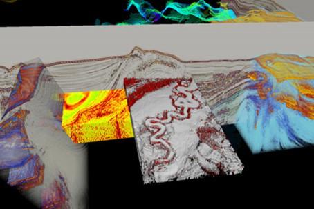 Petrel software rendering