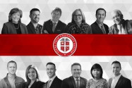 Photo illustration of 2020 Chancellor's Council Distinguished Teaching & Research Award recipients