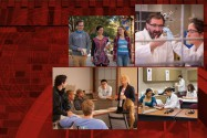 Collage of images of TTU System students and faculty