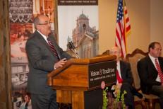 Rodney J. Eichler announces Apache Corp.'s gift to Texas Tech University