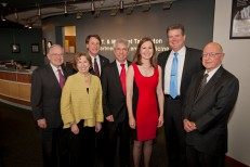 Officials from the Texas Tech University System and J.T. & Margaret Talkington Charitable Foundation