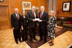 ExxonMobil and Texas Tech University System officials