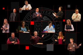 Photo illustration of 2019 Chancellor's Council Distinguished Teaching & Research Award recipients
